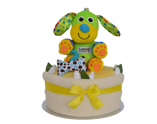 Lamaze Pupsqueak Nappy Cake - Neutral