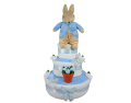 Three Tier Peter Rabbit Nappy Cake