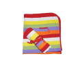 Toby Tiger - Toby Tiger - Organic Cotton Blanket/Shawl Multi Stripe