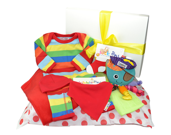 Large Stripy Gift Box