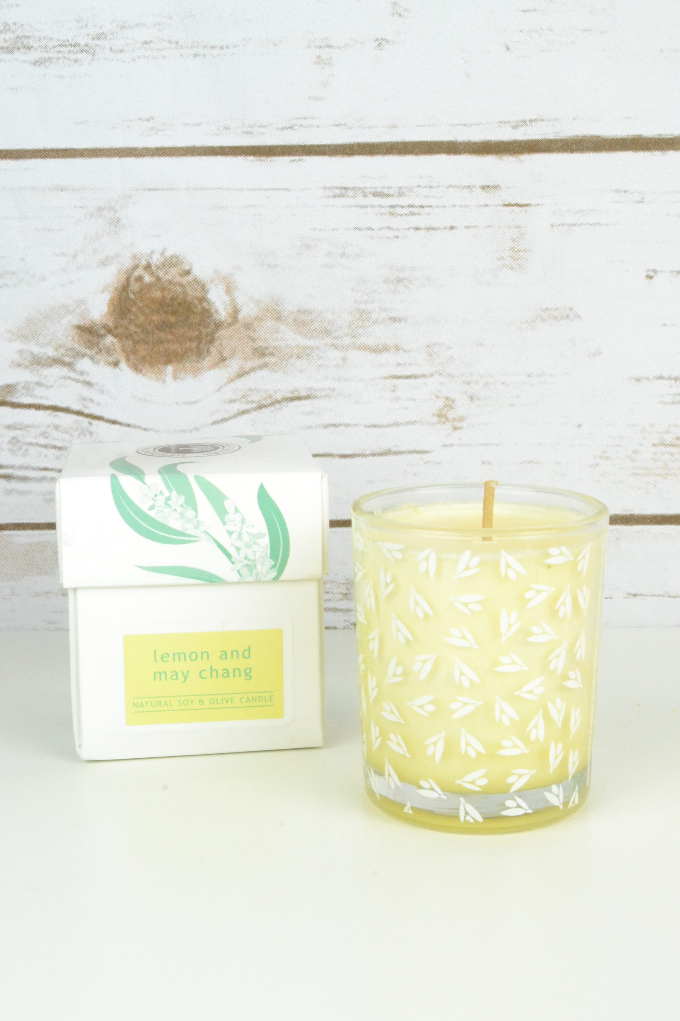 Wild Olive Lemon and May Chang Candle