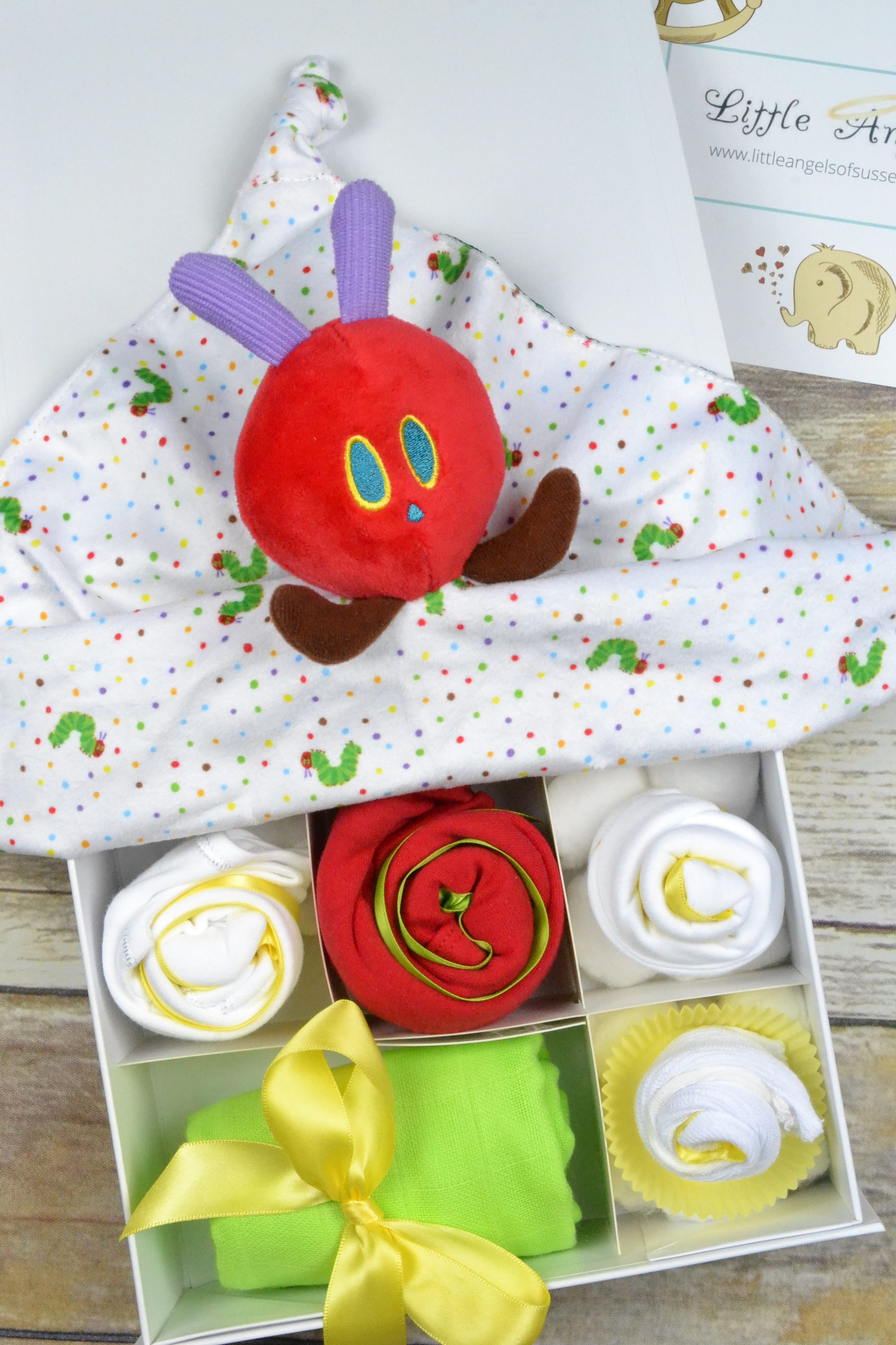 The Hungry Caterpillar Clothing Cupcake Gift Box